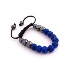 Náramek Shamballa SS1 Blue
