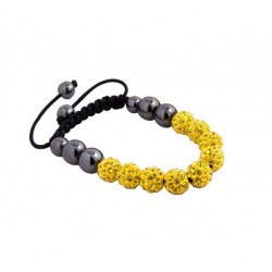 Náramek Shamballa SS1 Yellow