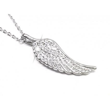 Náhrdelník z chirurgické oceli Angels Wings