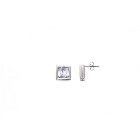 Náušnice z chirurgické oceli Window